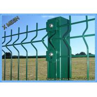 Wholesale Powder Coated Wire Mesh Fence Panels , Perimeter Coated Welded Wire Fence Steel from china suppliers