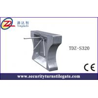 Wholesale RFID Reader TCP / IP  Pedestrian Tripod Turnstile Gate with ticketing system from china suppliers
