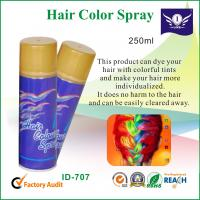 Wholesale 250ml Hair Color Spray , Party String Spray Dry Hair With Colorful Tints from china suppliers