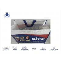 Quality 120g / M² Thickness Promotional Reusable Shopping Bags Give Away For Advertising for sale