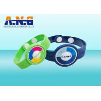 Wholesale Adjustable NFC Ultralight Chip Rfid Wristbands Silicone For Theme Park from china suppliers