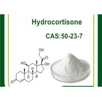 Wholesale Hydrocortisone CAS 50-23-7 Cutting Cycle Steroids , Anti Inflammatory Glucocorticoid Steroids from china suppliers