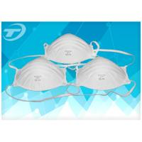 Quality FFP 3 Disposable Industrial Face Mask With Valve , Soft Polypropylene for sale