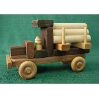 Wholesale Maple / Walnut Wood Natural Childrens Toy Building Vehicle Blocks from china suppliers