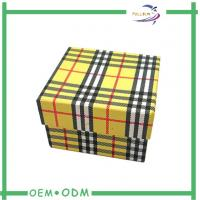 Wholesale Decorative Watch Storage Box Matte Lamination Handmade Rigid Packaging from china suppliers