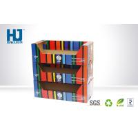 Wholesale Small Glossy Cardboard Display Box With 3 Tiers / POP Storage Products Stand from china suppliers