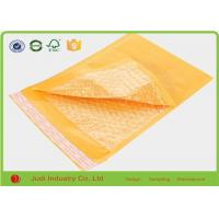 Wholesale Yellow Padded Mailing Envelopes , Shockproof Anti Pressure Bubble Courier Packaging Bags from china suppliers