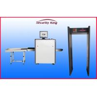 Wholesale Diagonal Beam Direction X Ray Baggage Scanner , 6mm Penetration Airport X Ray Machines from china suppliers