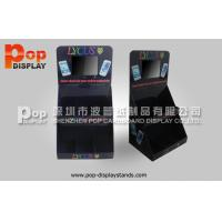 Wholesale Phone Accessories Cardboard Countertop Display Has LCD Player For Advertising from china suppliers