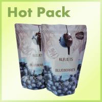 Wholesale Food Grade Paper Stand Up Snack Packaging Bags Greaseproof Eco Friendly from china suppliers
