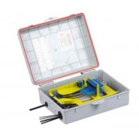 Wholesale 24 Core Waterproof Junction Box , Insert Type Splitter Outdoor Terminal Box from china suppliers