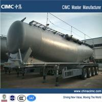 Wholesale tri-axle 70tons Cement Semi Trailer for Malaysia Market from china suppliers