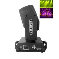 Wholesale 16 Channel Moving Head Beam Light Black / White Case200w 5R Philips Lamp from china suppliers