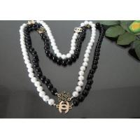Wholesale China Cheap Classic CC Logo PEARL Necklace from china suppliers