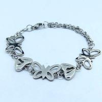 Wholesale High Quality Stainless Steel Fashion Mane's Women's Bracelet LBS92 from china suppliers