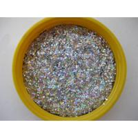Wholesale Glitter Dust Bright Silver Glitter Powder Body Glitter Pigment Laser Silver Color from china suppliers