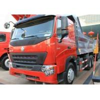 Wholesale 336HP dump Truck HOWO A7 6x4 EURO II Yellow with high strength steel U shape cargo body from china suppliers
