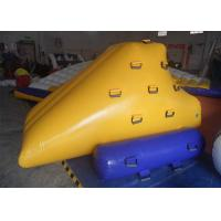 Wholesale Yellow Relaxing Inflatable Water Toys Silk Printing For Playground from china suppliers