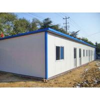 Quality Rigid Durable Steel Frame Prefab Homes Fast Erection With Sandwich Panels for sale