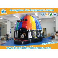 Wholesale 4mH 5m Dia Musical Inflatable Bouncy Castle Inflatable Dome Disco Jumping Area with CE from china suppliers
