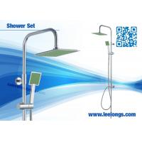 Wholesale Temperature Controlled Corner Shower Columns / Shower Panels For Home from china suppliers