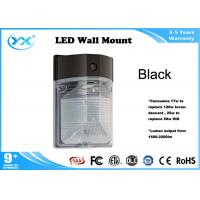 Wholesale 17W 25W 94lm / w commercial wall packs , 2200lm exterior wall mounted lights from china suppliers