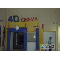 Wholesale Entertainment 4D Movie System With Motion Seat / Metal Flat Screen from china suppliers