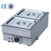 Wholesale 2 Pot Stainless Steel Electric Bain Marie For Warming Soup / Noodles / Meat from china suppliers