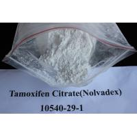 Wholesale Oral Anti Estrogen Tamoxifen Citrate / Nolvadex For Breast Cancer Treatment CAS 10540-29-1 from china suppliers