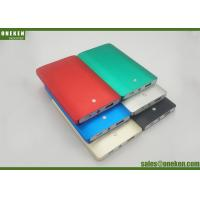 Wholesale Aluminum Alloy 4000mah Power Bank , Multi Colors Portable Mobile Phone Charger from china suppliers