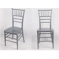 Wholesale Scratch Resistant Silver Chiavari Chairs Restaurant Waterproof from china suppliers