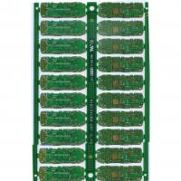 Buy cheap FR4, TG , CEM-1 , Aluminium multilayer ceramic pcb 10 Layer 0.2 - 3.0mm thickness from wholesalers