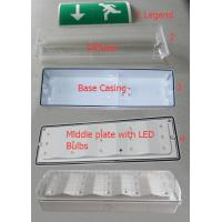 Wholesale Battery Powered Waterproof Emergency Escape Lighting For Industrial , Wall Surface Mounted from china suppliers