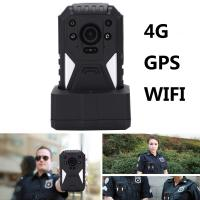Wholesale 4G Body Camera  4G Body Worn Police Video Camera With 1440P FULL HD Resolution from china suppliers