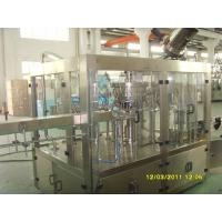 Wholesale 330-2000ml Carbonated Drink Filling Machine , Glass Bottle Sparkling Water Filling Machine from china suppliers