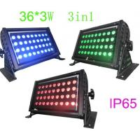 Wholesale 36pcs 3w Rgb Taicolor Led Stage Flood Light 110v -240v 108w RoHS from china suppliers