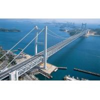 Wholesale Simple Structure Steel Cable Suspension Bridge for Longest Spans River from china suppliers