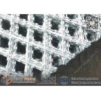Wholesale 22mm long Blade 50X100mm Diamond Hole Welded Razor Mesh Panel | Galvanised Coating from china suppliers