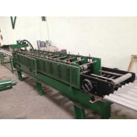 Wholesale PLC Control Roll Top Ridge Roll Forming Line With Hydraulic Shear from china suppliers