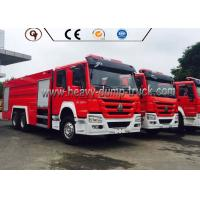 Wholesale 6X4 4x2 336 Hp Power Howo Firefighter Truck With Foam Tank And Water Tank from china suppliers