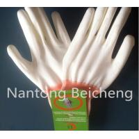 Wholesale Anti-static PU Coated Glove Gray Polyester with Lined Dip Palm from china suppliers