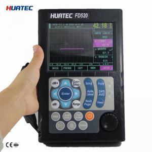 Quality FD520 digital ultrasonic flaw detector , ultrasonic flaw detection equipment dust proof for sale