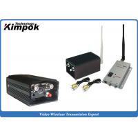 Quality Zero Delay Analog Video Transmitter with 5W Long Range CCTV Wireless Link for sale
