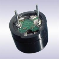 Quality Black PPO 12MM Electro Magnetic Buzzer With Pin , Simple Electronic Buzzers for sale
