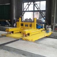 Wholesale Large platform crossing rail wide gauge rail traverser warehouse handling from china suppliers