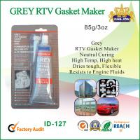 Wholesale High Heat Non Corrosion Ge Silicone Sealant For Cars , Grey RTV Gasket Maker from china suppliers