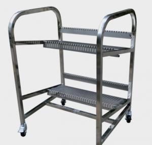 Wholesale Panasonic BM Feeder Storage Cart , BM Feeder Trolley for Panasonic feeder storage from china suppliers