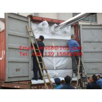 Quality 20ft PP woven dry bulk container liner for PE resin , Easy loading and unloading for sale