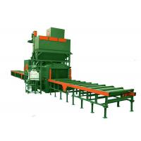 Quality Steel Portable Shot Blasting Equipment With Roller Conveyor Systems for sale