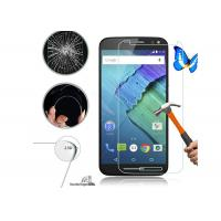 Wholesale Touch Tempered Glass Screen Cover , Moto X3 9H Hardness Screen Protector from china suppliers